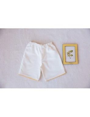 pantalon corto hueso